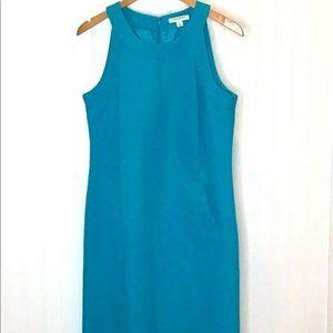 Banana Republic Factory Dress Teal Size 10